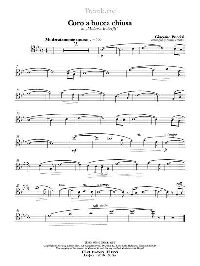 Brass Quintet arrangements – Edition Elm