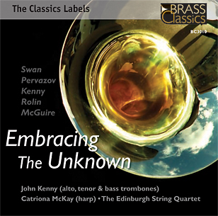 Embracing The Unknown CD released by Brass Classics label